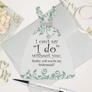 Bridesmaid proposal card