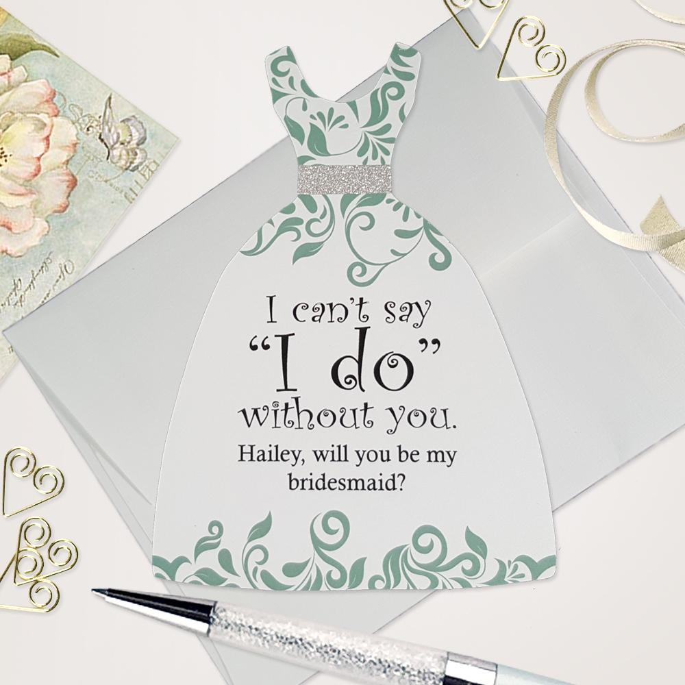 Bridesmaid Invitation Cards Bailemor