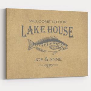 Lake House Wall Decoration