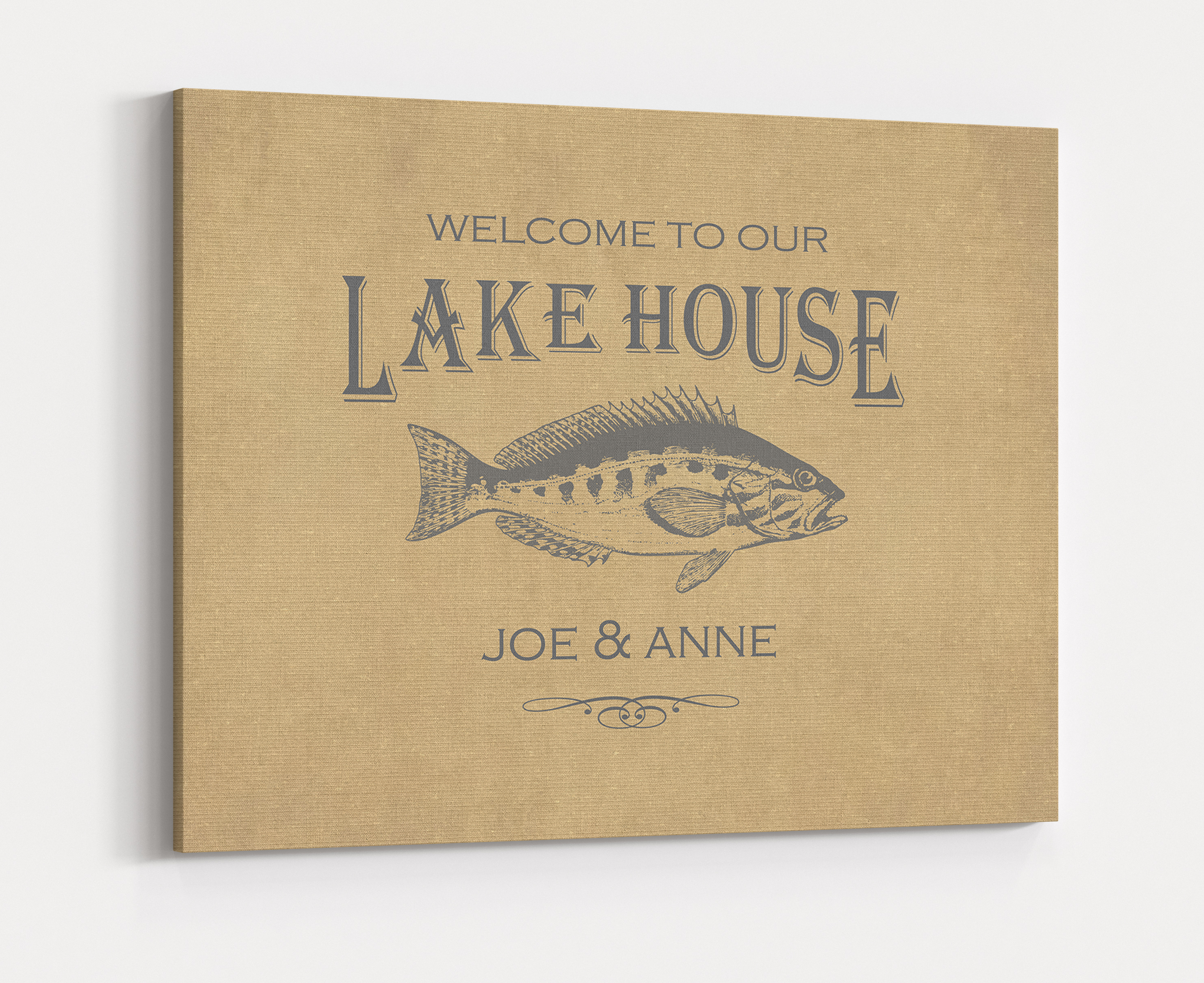 Fantastic Lake House Wall Decor Inspiration - The Wall Art ...