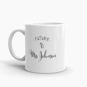 future mrs coffee mug