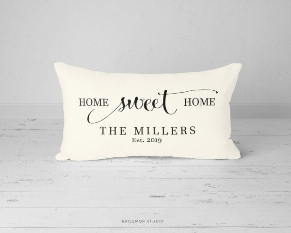 Home Sweet Home Pillow Bailemor