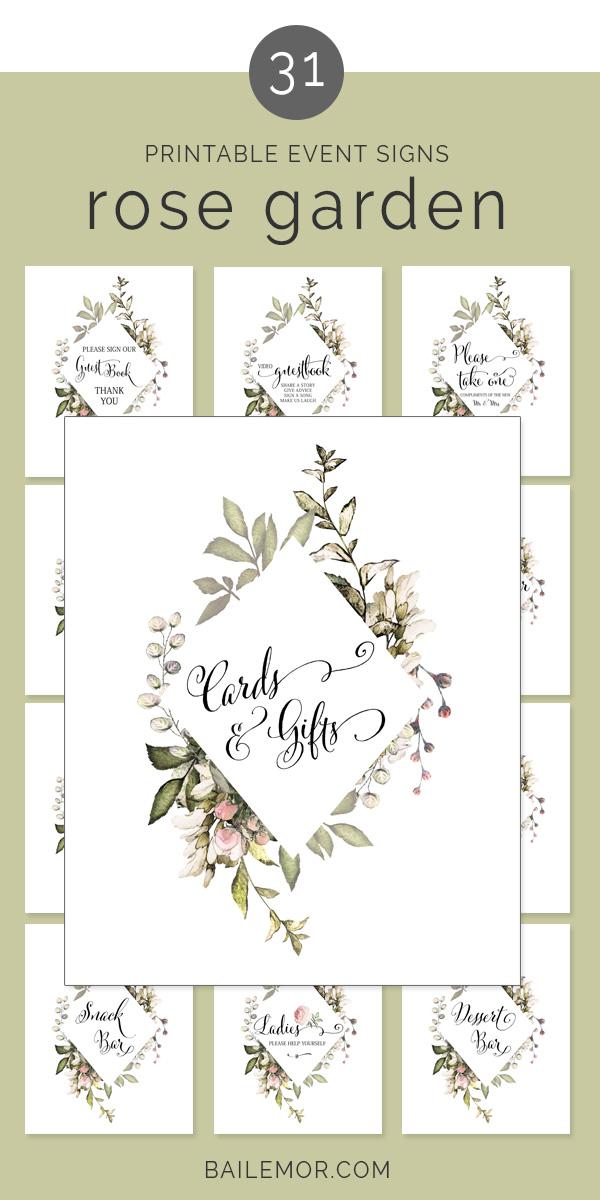 image regarding Printable Wedding Signage named printable marriage ceremony signal offer Bailemor